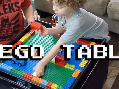 Level Up the Geek - Episode 2 - LEGO Table