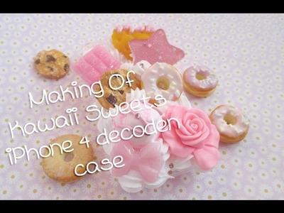 Making of: Kawaii Sweets iPhone 4 Decoden Case feat. Gralice in Wonderland