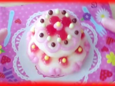 MINI WEDDING CAKE tutorial. kit that is Edible!