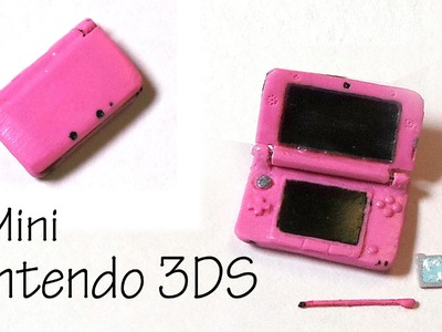 Miniature Nintendo 3DS XL (That Opens) - Polymer Clay Tutorial