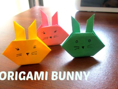 ORIGAMI BUNNY || Simple Paper Easter Bunny for decoration