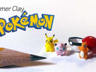 Polymer Clay Pokemon Tutorial (Miniature)