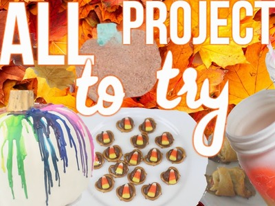 Simple Fall Projects You NEED To Try!