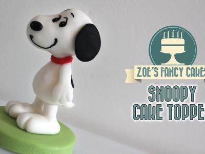 Snoopy cake model The Peanuts movie