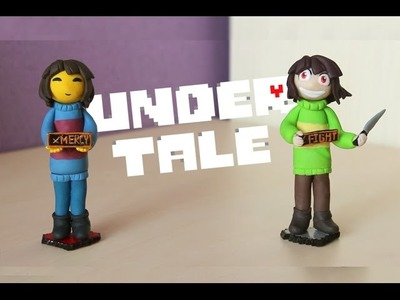 Undertale | Frisk and Chara | Polymer clay | Tutorial