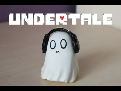 Undertale | Napstablook | Polymer clay | Tutorial