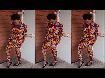 DIY l How To Make Ankara Set (Easy Sewing)