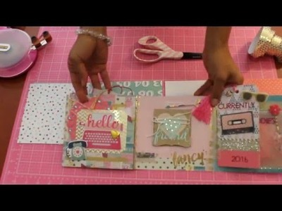 Flip Book Tutorial! EASY!!  2016  Snail Mail Swap w.a friend