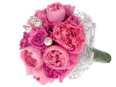 Garden Rose Bridal Bouquet
