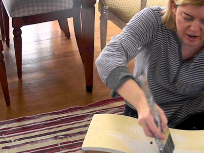 How to add a wash with Chalk Paint
