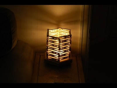 How to make a night light from clothespins