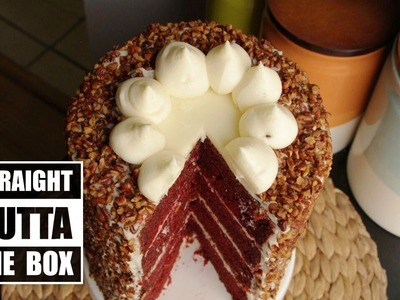 How to Make an Easy Red Velvet Cake from a Box | Become a Baking Rockstar