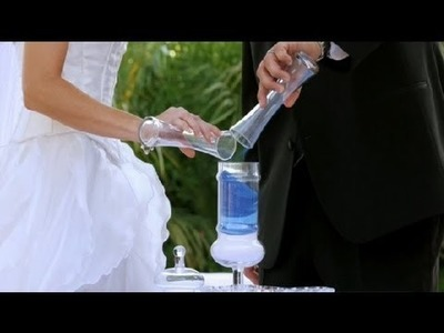 How to Perform a Sand Ceremony : Wedding Planning
