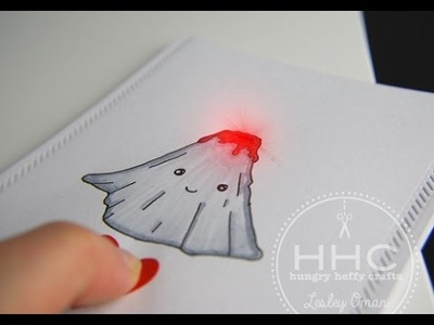 Lava you -  Light Up Valentine's Card with Chibitronics LED