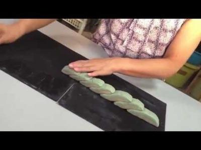 Nerikomi ceramic art rose pattern_FIORI115