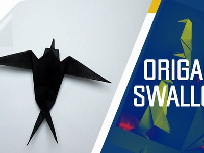 Origami - How To Make An Origami Swallow