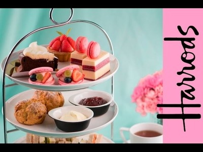 Scones, Trifle & Tiny Sandwiches - Is Harrods the Best High Tea in London? | Sweetspot
