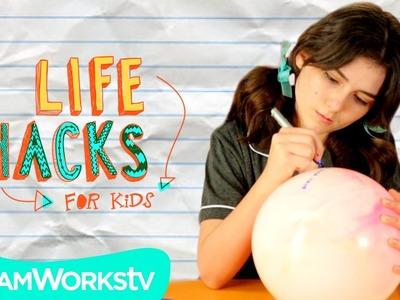 Slumber Party Hacks | LIFE HACKS FOR KIDS