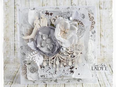 Wedding Card Tutorial Scrapiniec DT Project