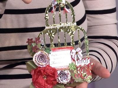 Birdcage Christmas Decoration   docrafts Creativity TV