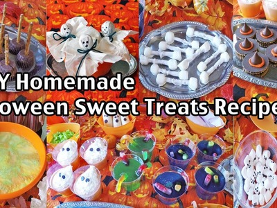 Easy Homemade Halloween Party Food Recipes And Ideas - Sweet Treats!