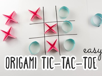 Easy Origami Tic-Tac-Toe Game Tutorial