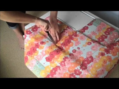 How to Decoupage Dresser Tutorial