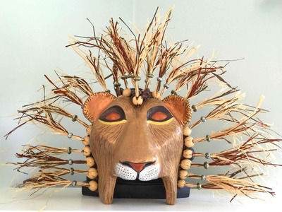 How to Make a Lion King Mask