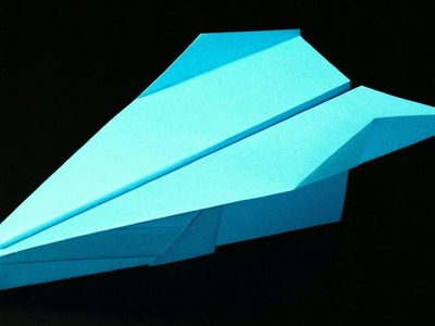 How to make a Paper Airplane - Paper Airplanes | Fenix