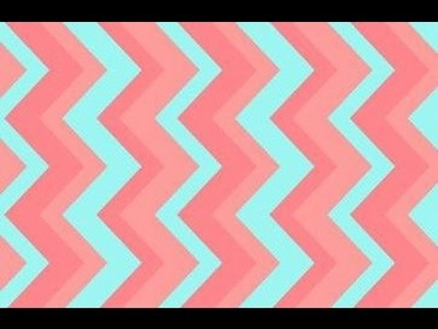 ♥ How to Make: Chevron Bookmarks ♥