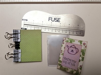 Itty Bitty Photo Album -- Pocket Letter Size