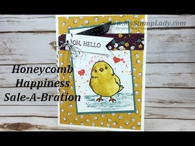 Masking With Stampin' Up!'s Honeycomb Happiness