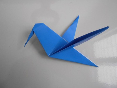 Origami Animals - How To Make Origami Birds Honey Suckers