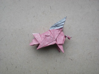 Origami Flying pig (Bodo Haag) Tutorial