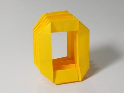 Origami Letter  'O'