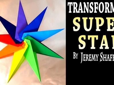 Origami Transforming Super Star