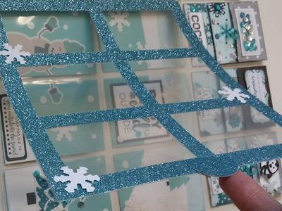 Window Frame for Pocket Letters:  Tutorial