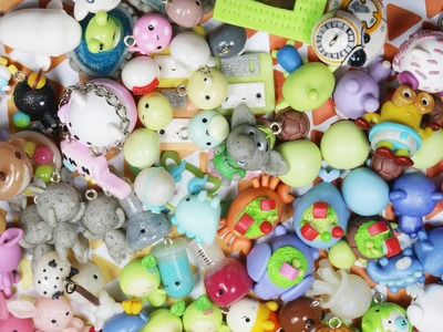Charm Update #27: 80+ charms! Sleeping animals, chibis, and resin!!!