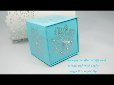 Cubed Gift Box with Drawer Opening