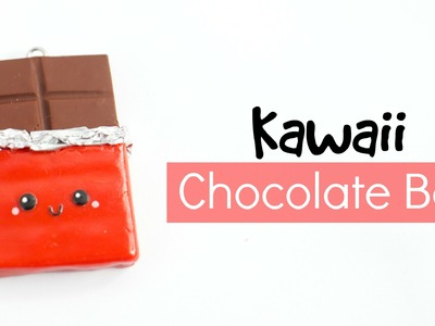DIY Chocolate Bar Charm Keychain