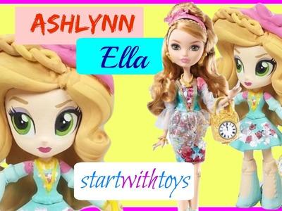 EAH Ashlynn Ella Custom My Littly Pony Equestria Girls Mini DIY Makeover | Start With Toys