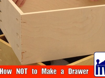 How NOT to Make a Drawer