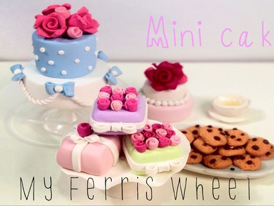 How to Make a miniature clay cake