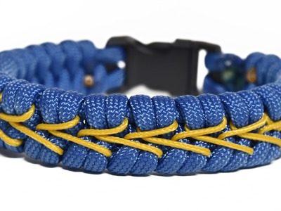 Make the Center Stitched Fishtail Paracord Bracelet - BoredParacord.com