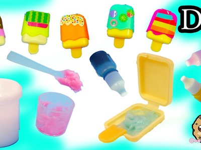 Make Your Own Ice Cream Lip Gloss Do It Yourself Maker Playset with Color + Glitter - Cookieswirlc