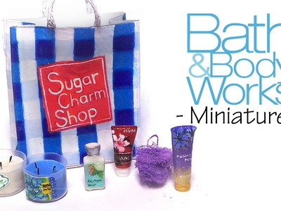 Miniature Bath And Body Works - Polymer Clay Tutorial