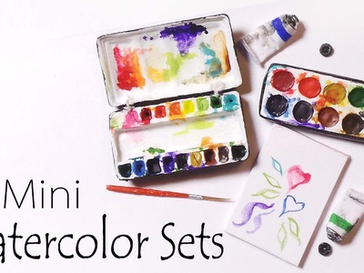 Miniature Watercolor Palettes (That work) - Polymer Clay Tutorial