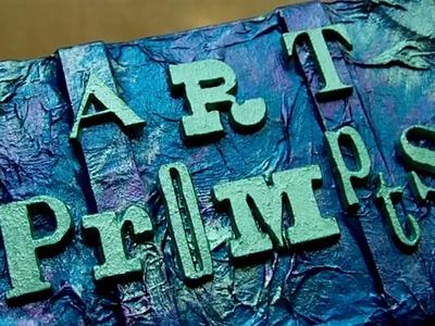 Mixed Media - Art Prompt. Inspiration Box