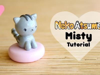 Neko Atsume Misty & Cushion │ Polymer Clay Tutorial