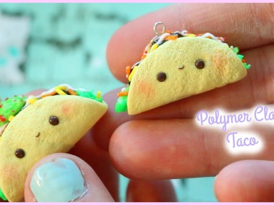 Polymer Clay Taco Charm Tutorial